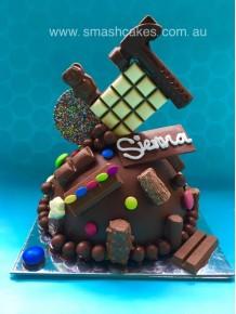 3. Choc-a-block Smashcake  - Medium Size (approx 2kg)