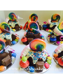 Mini-Mini Wonka tribute Smashcake