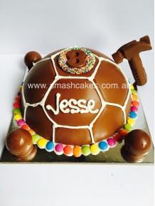 Soccer Ball Smashcake- Adelaide